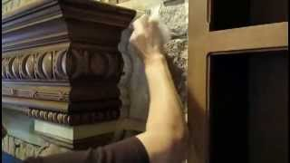Faux Stone On Mantle