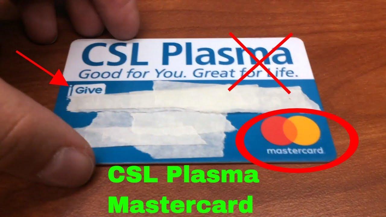 ✅ CSL Plasma Mastercard Prepaid Debit Card Review 🔴