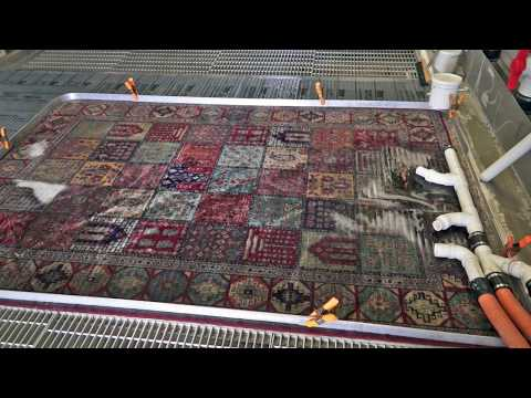 Why you shouldn't clean Your Oriental Rug at Home