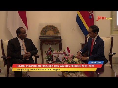 Sebelum Dilantik, Jokowi Terima 5 Tamu Negara
