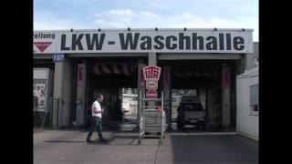 Uwe Wöllner in der LKW Waschanlage Teil 4