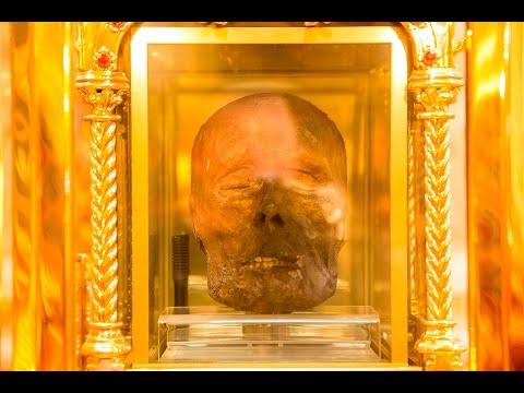 The Head of Catholic saint Oliver Plunkett