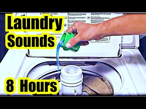 🎧 WASHING MACHINE SOUNDS ✪ LAUNDRY SOUND EFFECT from WASHING MACHINE for WHITE NOISE SLEEP SOUNDS