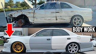 Rebuilding a Wrecked JZX100 Chaser Pt. 4