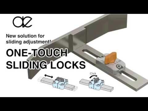 One Touch Sliding Locks Sliding Latch Hardware Locking