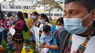 Comunidad Embera, Katio, Chamí abandonados sin alojamientos y sin ingresos en plena pandemia