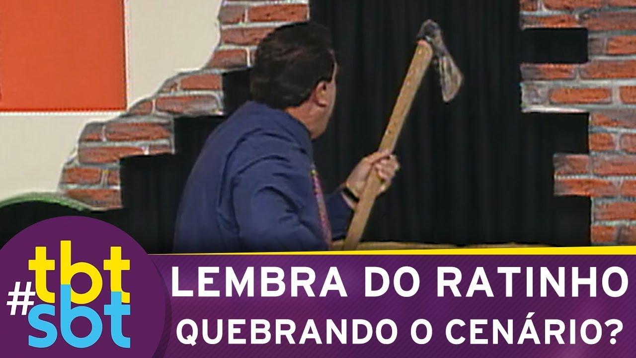 Lembra do Ratinho quebrando o cenário do Programa do Ratinho? | tbtSBT (06/09/18)
