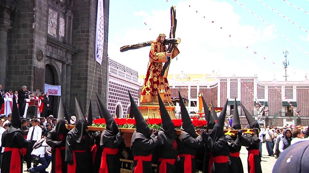 Imagen de Jesucristo, protagonista de la procesión de viernes santo