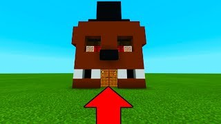 "Minecraft: How To Make Freddys Hidden Base ""FNAF House"""