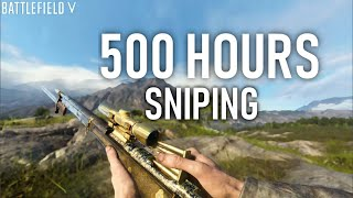 500 Hours of Sniping will Do this with You aim! - Battlefield 5 Sniping