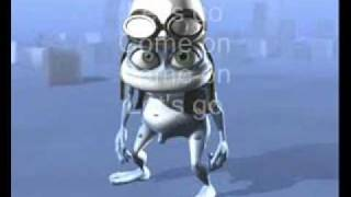 NA NA NA HEY HEY GOODBYE CRAZY FROG WITH LYRICS