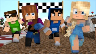 Minecraft: CORRIDA DO FROZEN! | Death Run Mini-Game