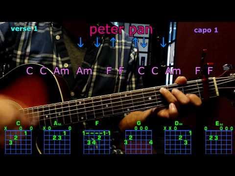peter pan kelsea ballerini guitar chords