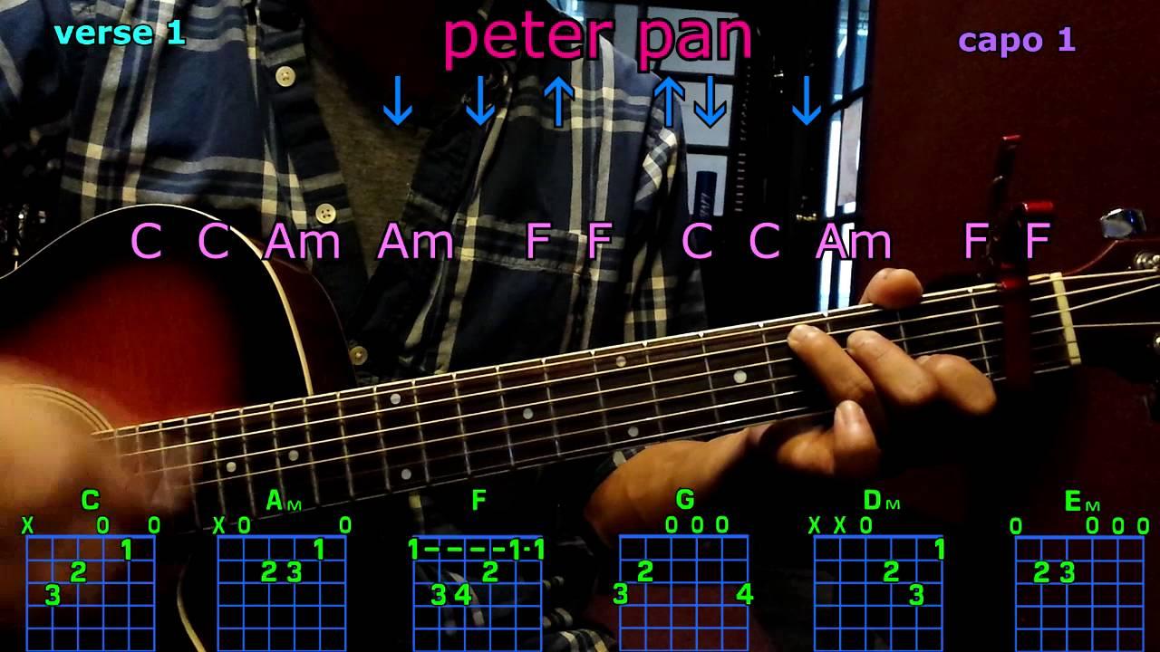 Peter pan kelsea ballerini guitar chords youtube peter pan kelsea ballerini guitar chords hexwebz Images