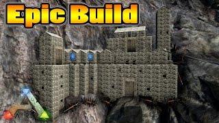 Ark Survival Evolved   Epic Cliff Base Build