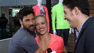 Maksim Chmerkovskiy & Peta Murgatroyd Show off the Xersion Line at JCPenney Behind The Velvet Rope