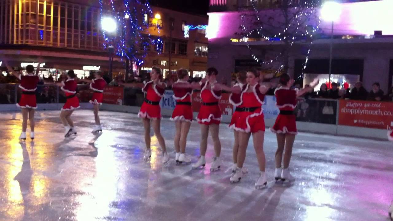 Plymouth Piazza Ice Rink Heart South West