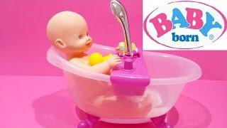 Baby Born Doll ❤ Lovely Doll Bath Tub Set Water Shower For Kids Worldwide