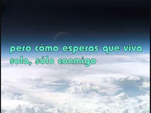 Glee - no air (letra en español)