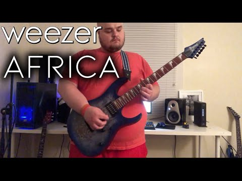 Weezer | Africa | Guitar Cover W/ SOLO & Some Twist!