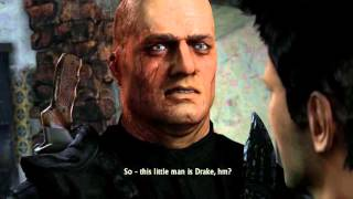 Uncharted Collection: Among Thieves - Chap 11: Harry Flynn Standoff, Lazarevic Kills Jeff Cutscene