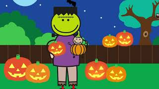The Byrnes Family | Halloween video for children | Education | Learning