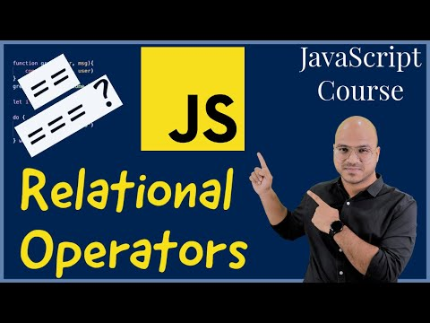 #10 Relational operators in JavaScript