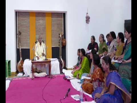 4-Music workshop by Sri Malladi Suribabu - Naama Vadaami Sadaa NruhareTava