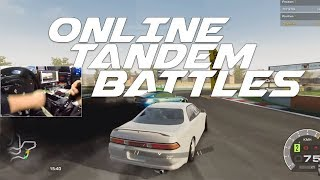 Car X Drift Racing PC - GoPro ONLINE Tandem BATTLES!! | SLAPTrain