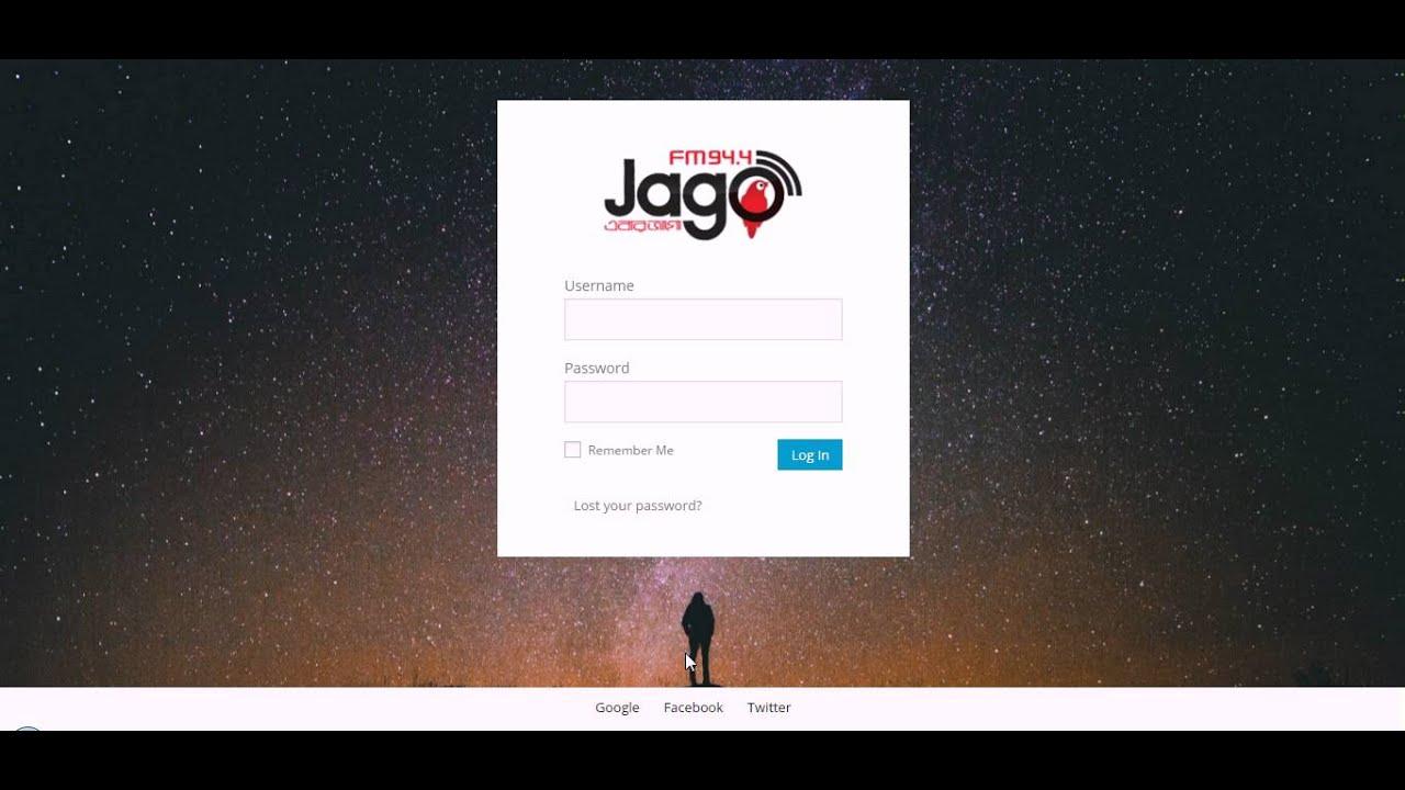 How To Change Wordpress Login Page Design Youtube