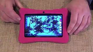 Unboxing & Review Dragon Touch 7 Quad Core Android Kids Tablet