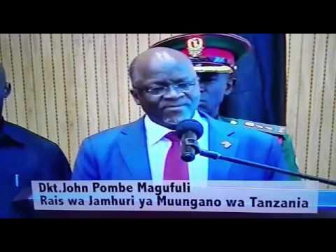 Dr. John Pombe Magufuli