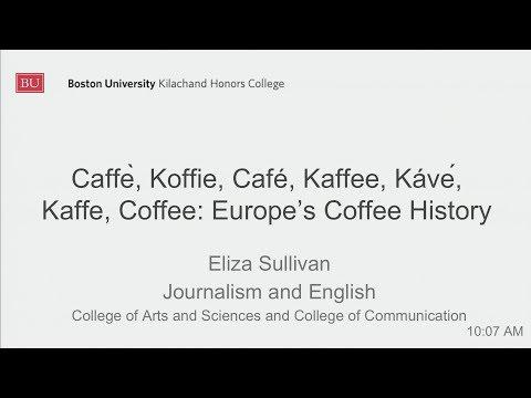 Eliza  Sullivan: Caffe, Koffie, Cafe, Kaffee, Kave, Kaffe, Coffee - Europe's Coffee History