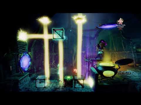 Trine 4 The Nightmare Prince - The Witch Puzzle Boss Fight