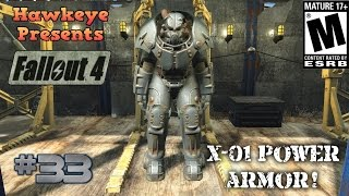 Fallout 4 - Episode #33: X-01 - The Best and Rarest Power Armor!
