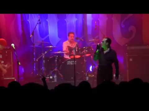 The Damned live at the Dundee Caird Hall Scotland 2018