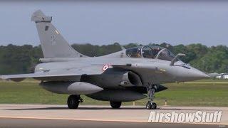F-22/F-35/EF-2000/Rafale/F-15E Flightline Operations - Atlantic Trident 2017