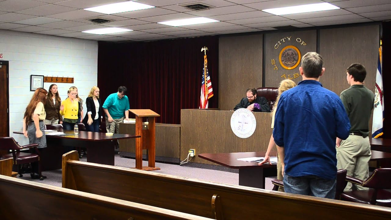 For teen court the court