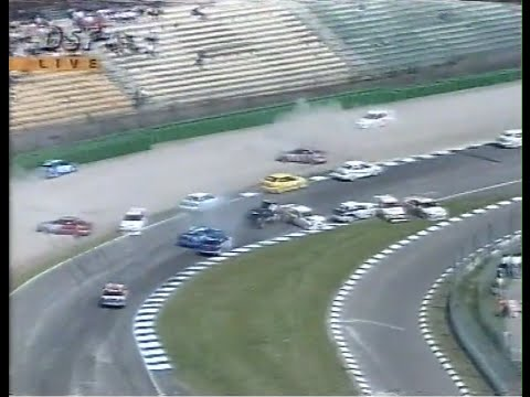 STW Hockenheim 1995 Race 1 Start Huge pile up