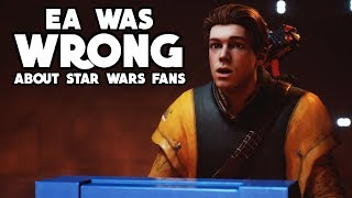 Jedi Fallen Order Proves EA was WRONG about Star Wars Fans