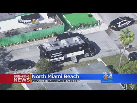 SWAT Responds To Shots Fired In North Miami Beach