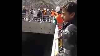 Water filling in Tunnels of Neelum Jhelum River project