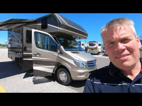 2020 Dynamax Isata 3 24FW with Full Wall Slide Mercedes Benz Diesel!