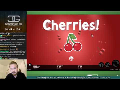 LIVE CASINO GAMES - €1800 start on !casumo tonight