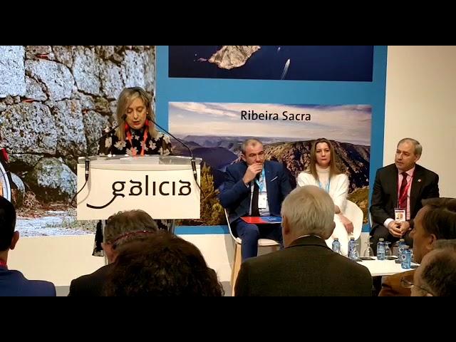María Loureiro resalta en Fitur los parajes de Viveiro