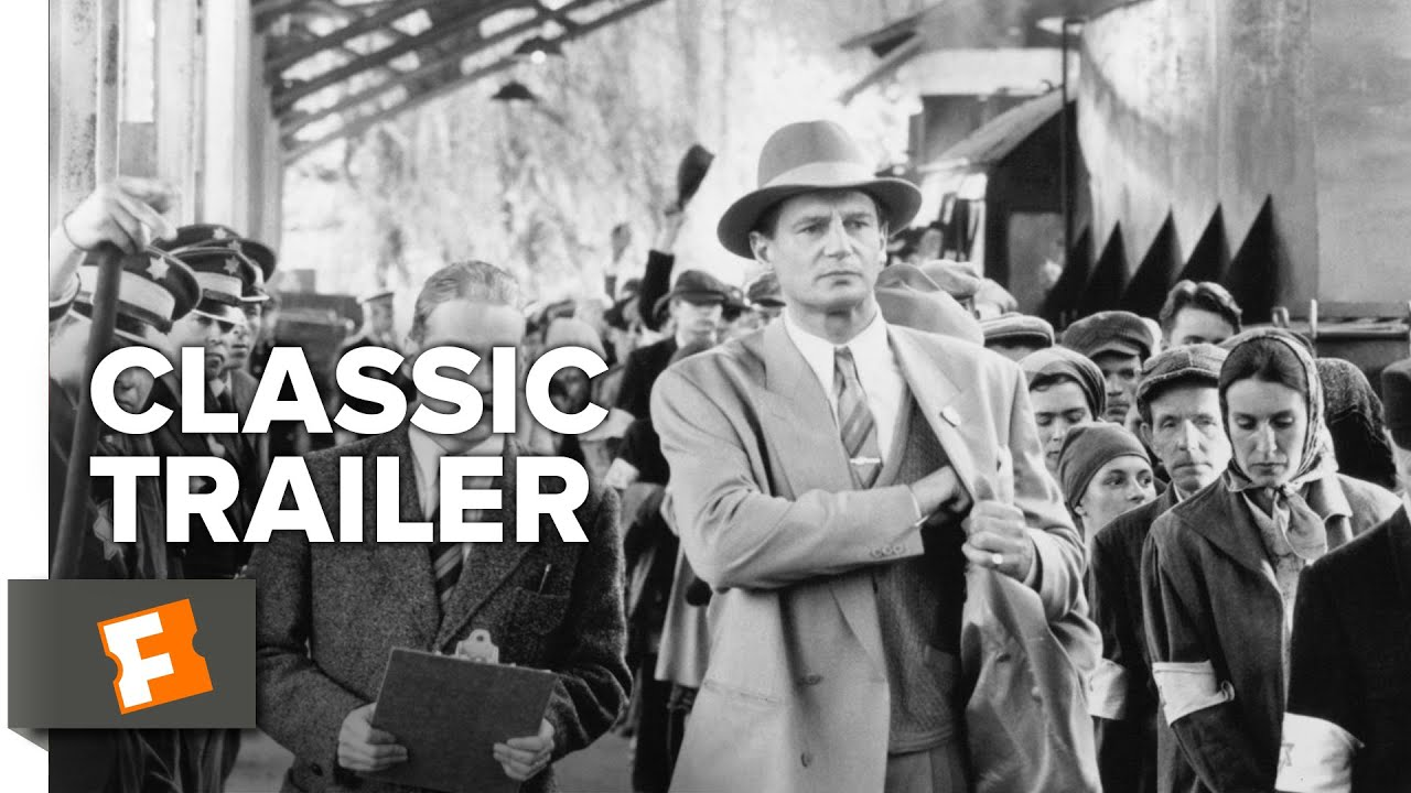 schindlers list 1993 official trailer liam neeson
