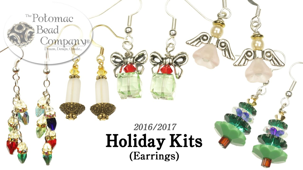 Holiday Earring Kits 2017 Models