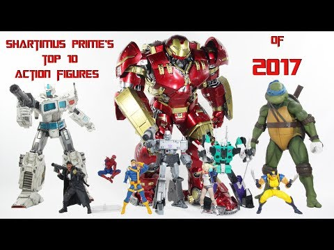 Top 10 Action Figures of 2017 by ShartimusPrime