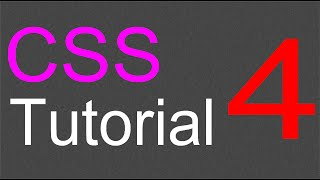 CSS Layout Tutorial - 04 - Adding the main content section
