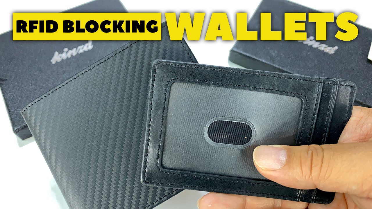 Mens Magnetic Slim Genuine leather money clip Black Smooth texture Free Ship NWT